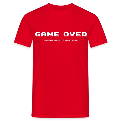 Game Over T-shirt - T-shirt herr