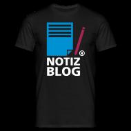 T-Shirts ~ Männer T-Shirt ~ notiz-blog