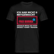 T-Shirts ~ Männer T-Shirt ~ free burma