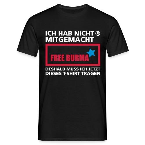 free burma - Männer T-Shirt