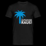 T-Shirts ~ Männer T-Shirt ~ ich bin b-blogger!
