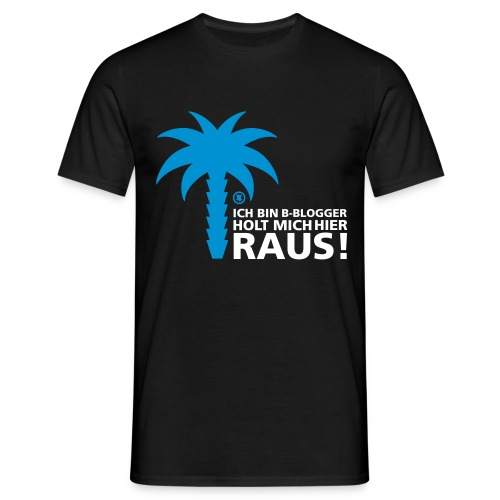 ich bin b-blogger! - Männer T-Shirt