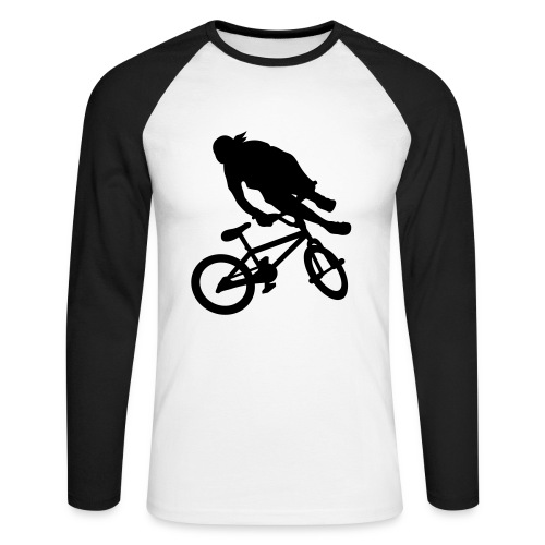 tail whip - T-shirt baseball manches longues Homme