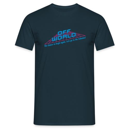 Off-World - Men's T-Shirt