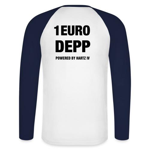 Lang Arm Shirt - Männer Baseballshirt langarm