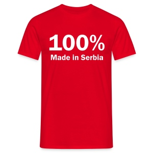 Majica 100% Made In Serbia - T-shirt Homme