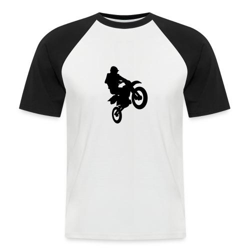 Motocross-T-Shirt - Männer Baseball-T-Shirt