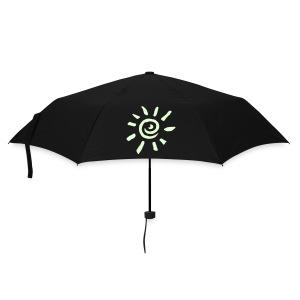 Regenschirm Sonne leuchtend - Regenschirm (klein)