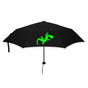 Regenschirm Echse neon - Regenschirm (klein)
