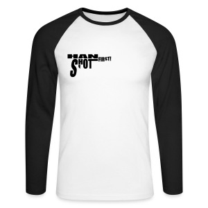 Han shot first! - Men's Long Sleeve Baseball T-Shirt