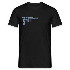 Han shot first! Silverprint - Men's T-Shirt