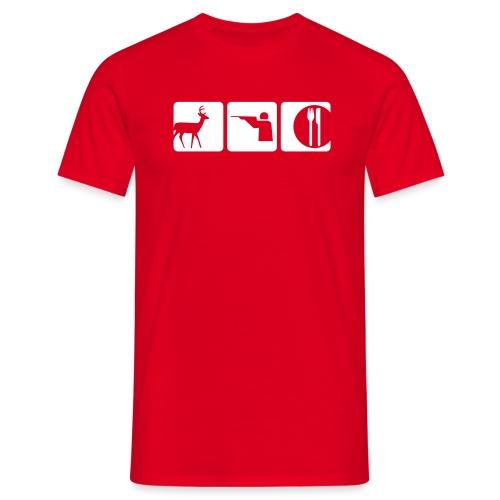 Jägermeister - Animal - Männer T-Shirt