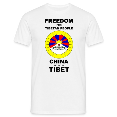 Nationen - Tibet - Männer T-Shirt
