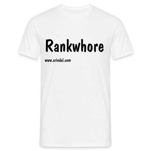 Rankwhore - Men's T-Shirt