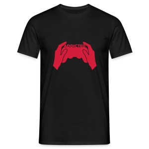 Addicted Gamer - Men's T-Shirt