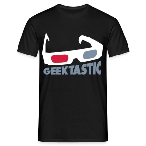 GEEKTASTIC 3D Glasses - Men's T-Shirt