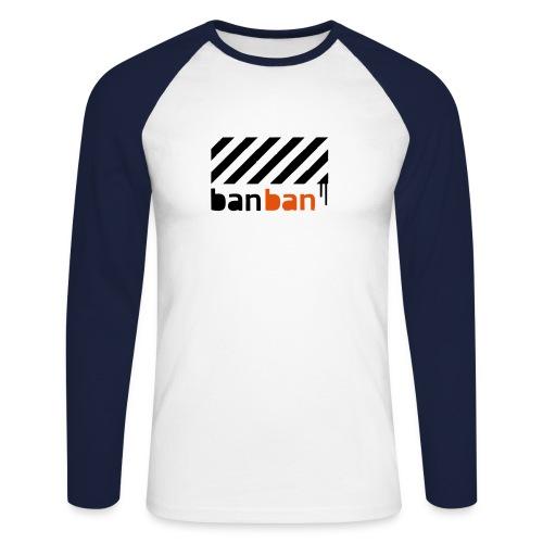 banban homme long - T-shirt baseball manches longues Homme