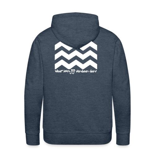 Westland Hooded Sweater - Mannen Premium hoodie