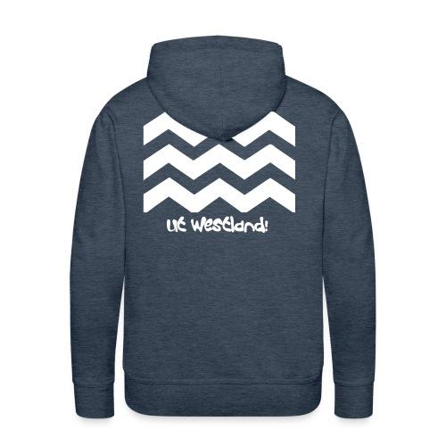 Westland Hooded Sweater 2 - Mannen Premium hoodie