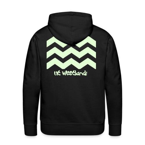 Glow in the dark Hooded Sweater Westland - Mannen Premium hoodie