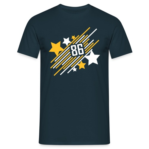 '86 Allstar - Shirt - navy - Männer T-Shirt