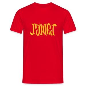 Power-Ambigramm T-Shirt - Männer T-Shirt