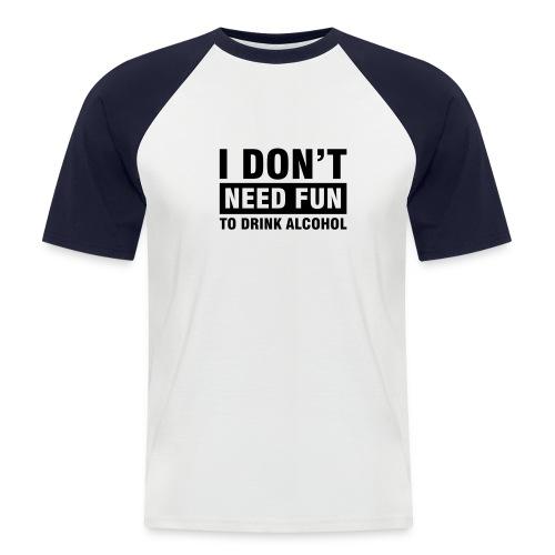 T-paita - Miesten lyhythihainen baseballpaita
