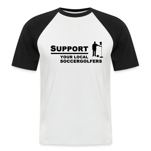 Support-Shirt - Männer Baseball-T-Shirt