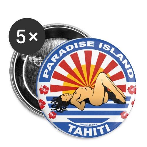 Button Paradies  Island Tahiti - Buttons klein 25 mm