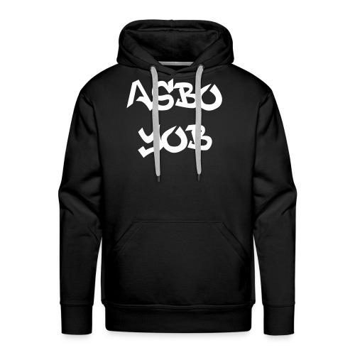 ASBO Yob Hoodie - Men's Premium Hoodie