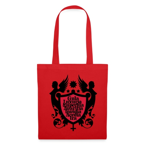 Sac pour femme rouge - Tote Bag