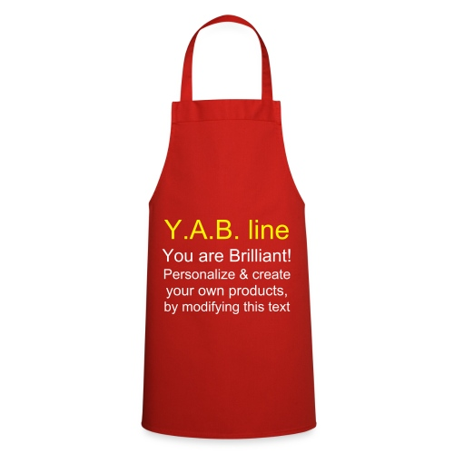 Tablier de cuisine - Y.A.B. line
