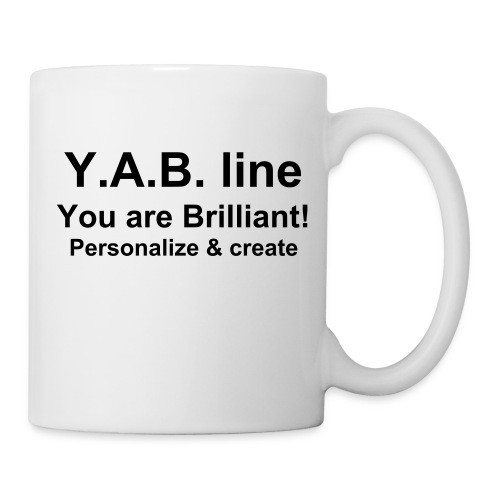 Mug blanc - Y.A.B. line