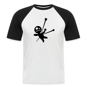 Camiseta voodoo-U bicolor  - Camiseta béisbol manga corta hombre