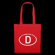 Taschen & Rucksäcke ~ Stoffbeutel ~ Die passende Tasche in Rot