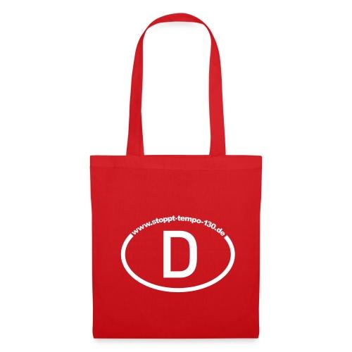 Die passende Tasche in Rot - Stoffbeutel