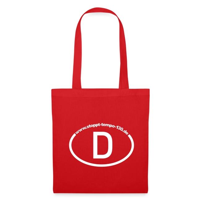 Die passende Tasche in Rot
