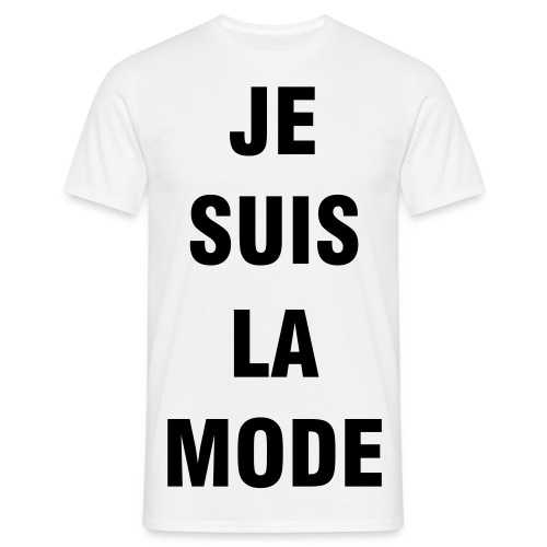 Je suis la mode - Men's T-Shirt