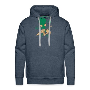 Aliens took my baby away! Back- and frontprint - Men's Premium Hoodie