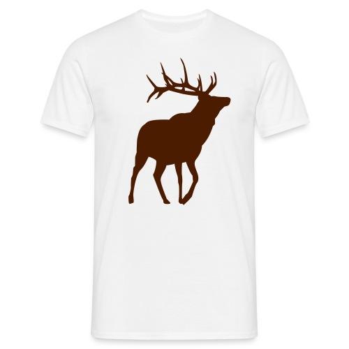 T-Shirt Hirsch - Männer T-Shirt