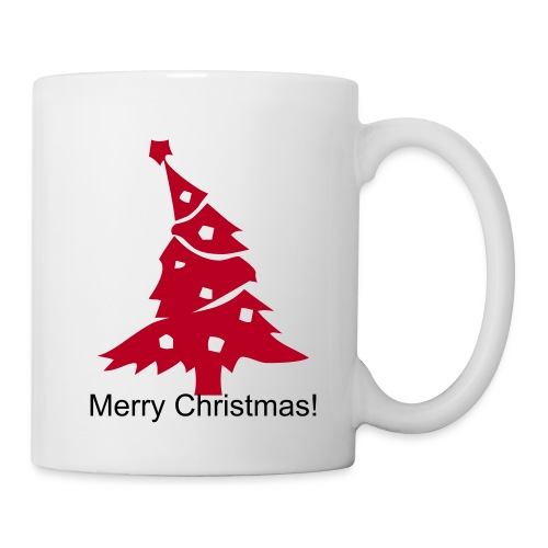 Sesonal Christmas Mug - Red Design - Mug