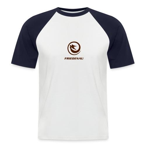 T-Shirt zweifarbig - Männer Baseball-T-Shirt