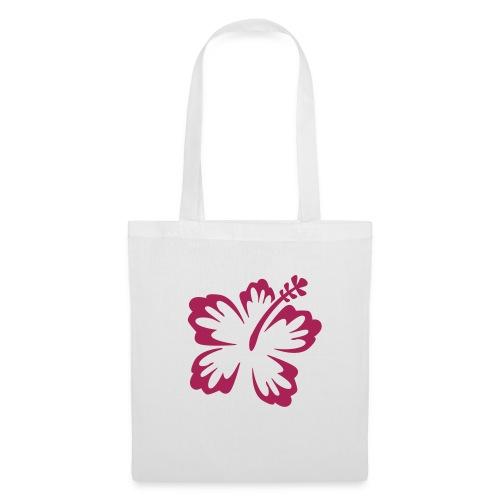 Stofftasche Blume - Stoffbeutel