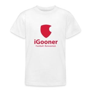 Teenage T-shirt - arsenal,gooner,gunners