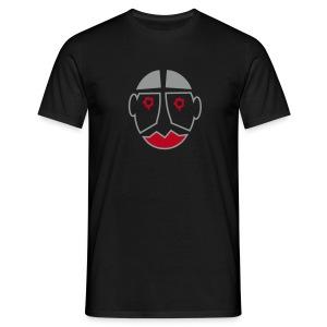 Halloween Maske T-Shirt - Männer T-Shirt