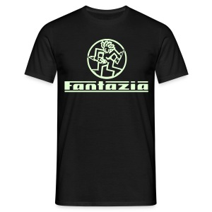 Glow in the dark Fantazia T-shirt - Men's T-Shirt