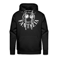 Hoodies & Sweatshirts ~ Men's Premium Hoodie ~ Fantazia Smiley Face Hooded Sweatshirt