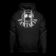 Hoodies & Sweatshirts ~ Men's Premium Hoodie ~ Fantazia Smiley Face Hooded Sweatshirt