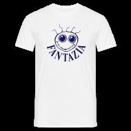 T-Shirts ~ Men's T-Shirt ~ Fantazia Logo front Customisable rear