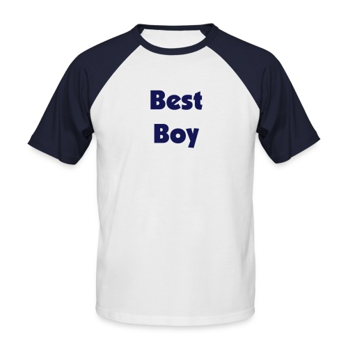 Best Boy T-Shirt - Men's Baseball T-Shirt
